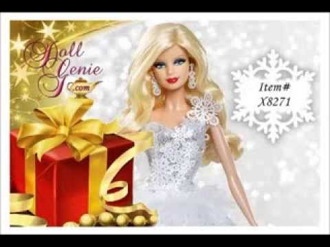 2013 holiday barbie dolls at the doll genie youtube - Barbie barbie barbie barbie barbie ...