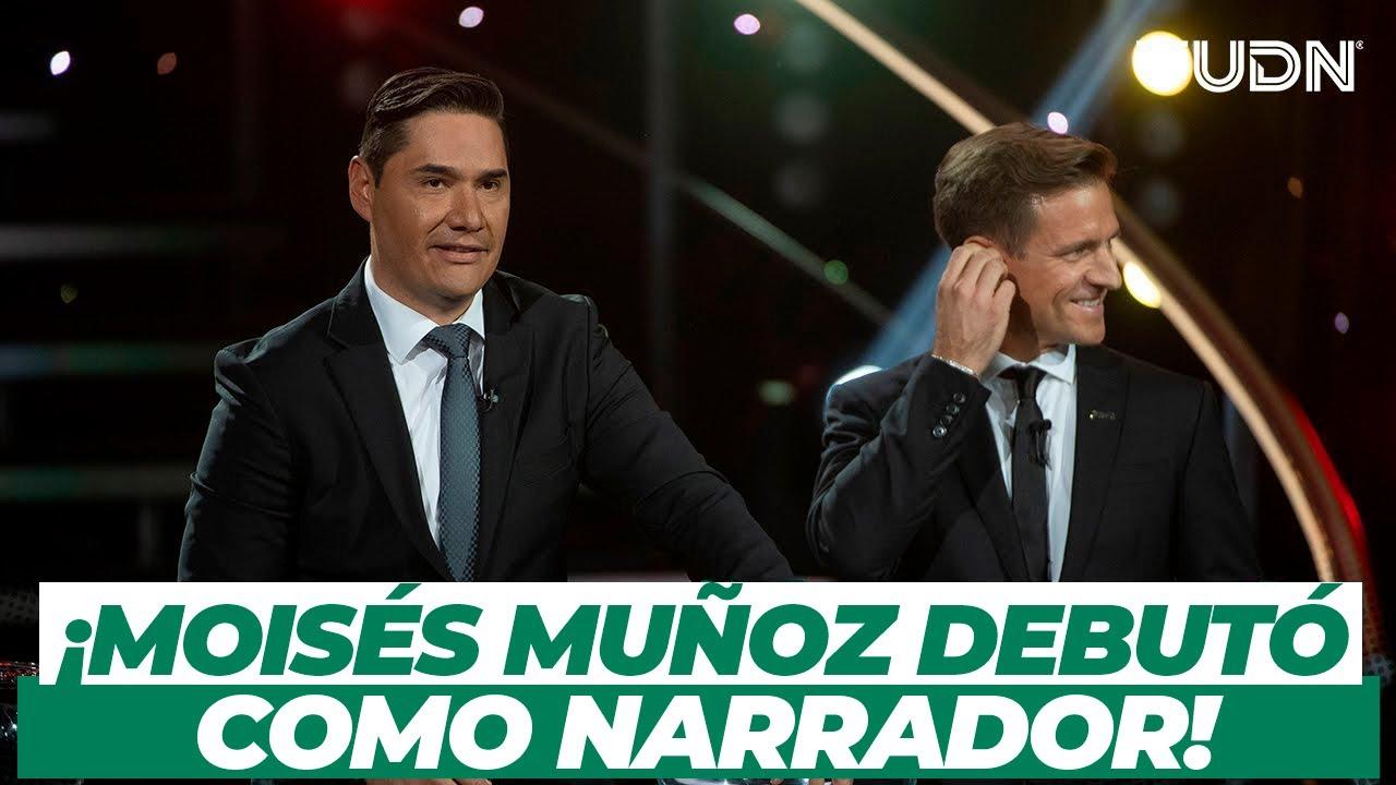 ¡Así debutó Moisés Muñoz como narrador de futbol! I TUDN