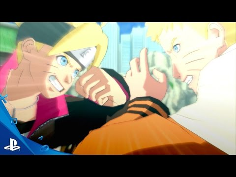 Naruto Shippuden: Ultimate Ninja Storm 4 Road to Boruto - Announcement Trailer   PS4