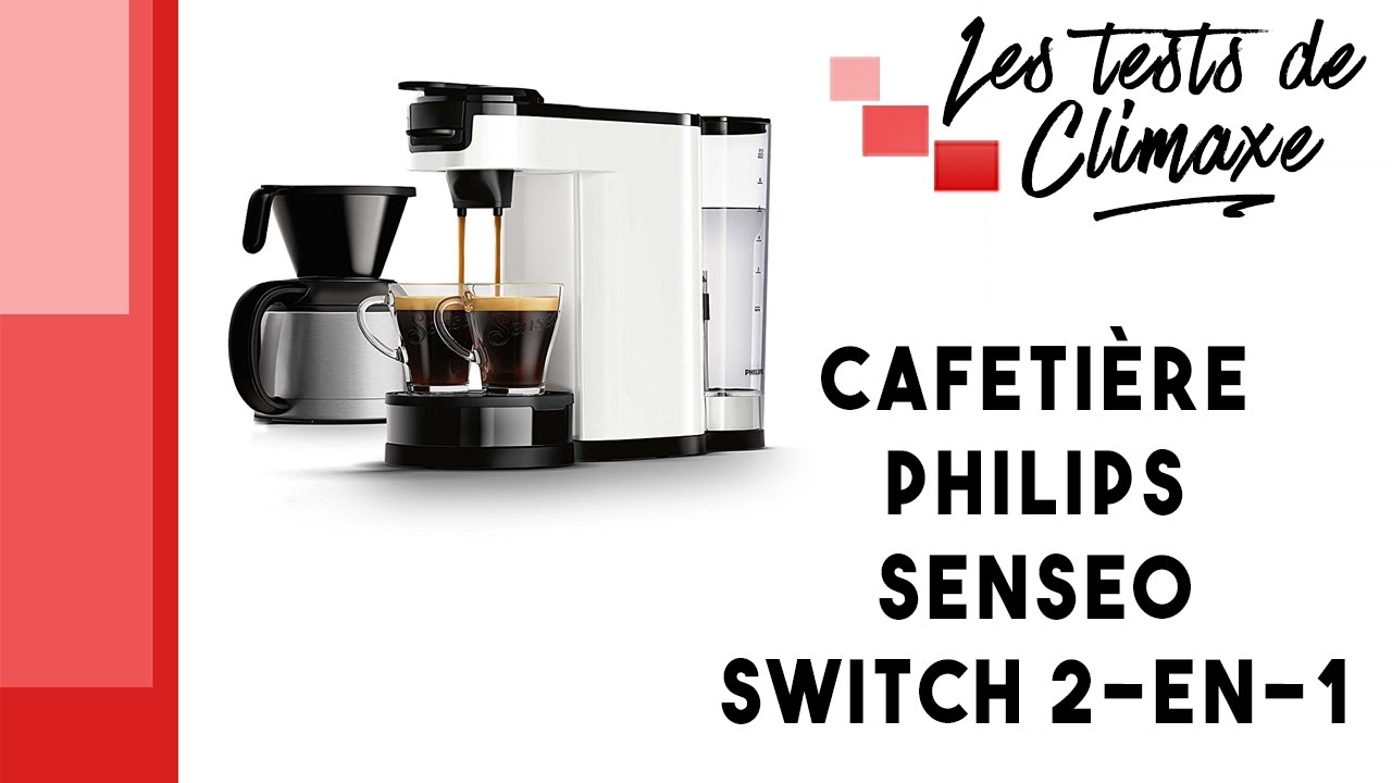 test d 39 une cafeti re philips senseo switch 2 en 1 youtube. Black Bedroom Furniture Sets. Home Design Ideas