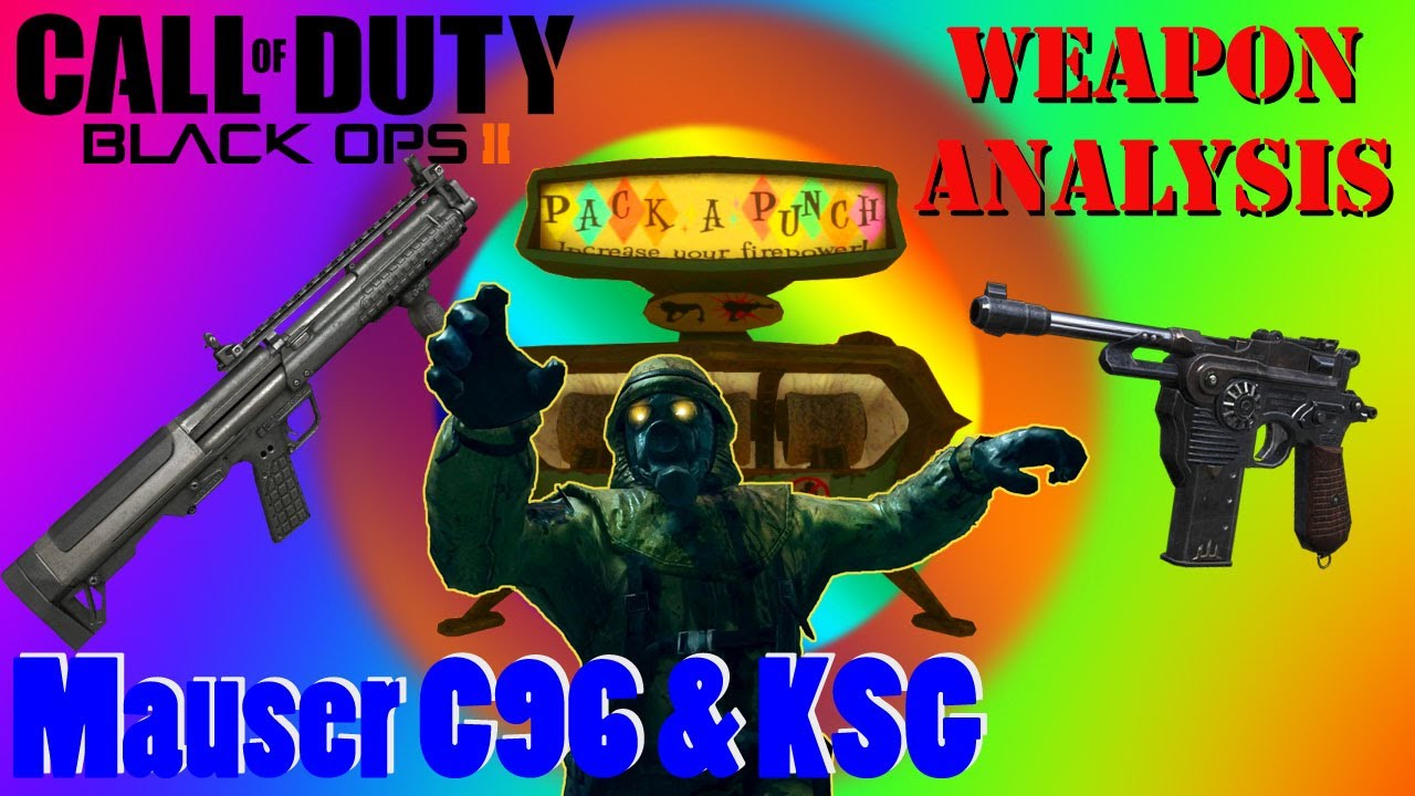 Pack a Punched KSG & Mauser C96 Origins Exclusive - YouTube