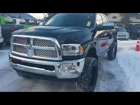 2018 Ram 3500 Laramie Cummins 6.7 Diesel 6 speed manual 4x4 for sale Canmore Chrysler 403-678-5881