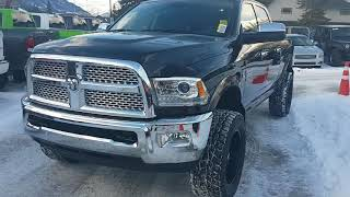 2018 Ram 3500 Laramie Cummins 6.7 Diesel 6 speed manual 4x4 for sale Canmore Chrysler 403-678-5881