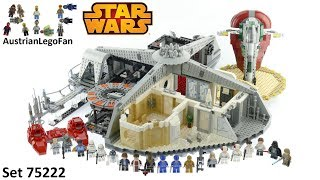 Lego Betrayal at Cloud City - Lego Star Wars 75222 Speed Build