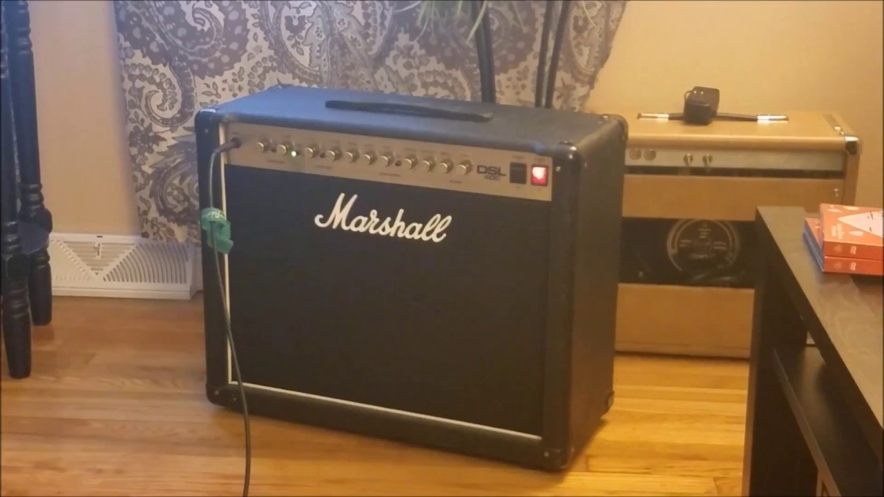 Marshall DSL40C with Spring Reverb mod