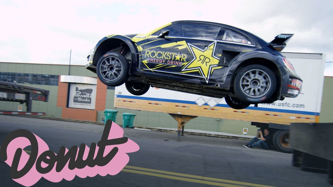 Tanner Foust Vw >> Jumping a Rally Car w/Tanner Foust in Portland, OR | Donut Media - YouTube