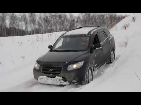Hyundai Santa Fe 2002 Vs 2006 Off Road Snow