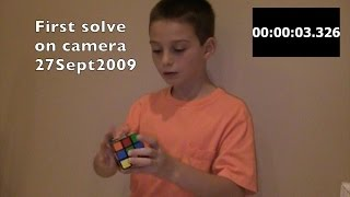 Speedcubing Journey of Lucas Etter