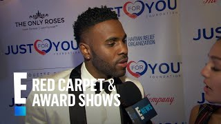jason derulo talks just for you foundation and new music e red carpet live events