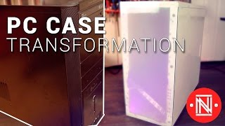 Experimental Computer Case Makeover  || How-to