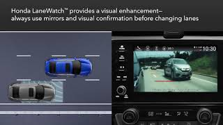 Honda HR-V: How to Use Honda LaneWatch™
