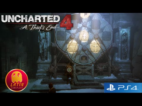 Uncharted 4 - Resolver puzzle acertijo desafio de las cruces y balde de agua