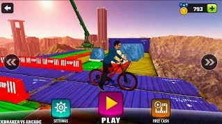 Gambar cover Impossible BMX Bicycle Stunts New Bicycle Unlocked Android GamePlay 2017