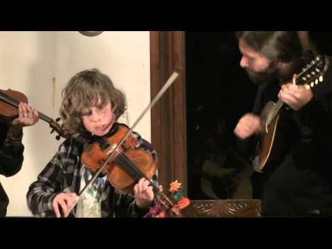 Kimber Ludiker Fiddle Group performance at the Big Sur Fiddle Camp