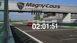 La Honda Civic Type R réalise le record du tour le plus rapide à Magny-Cours