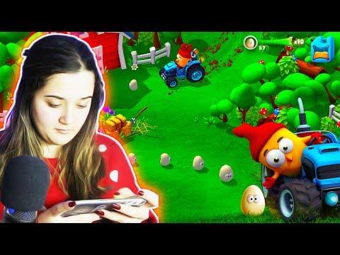 MARINA IGRA ZANIMLJIVE IGRICE NA TELEFONU! (Chicken Pox)