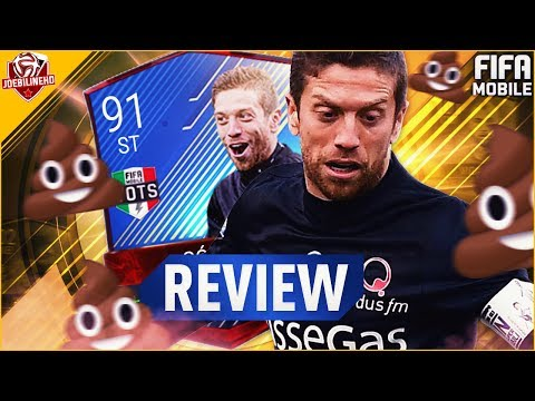 FIFA MOBILE 91 TOTS ALEJANDRO GOMEZ REVIEW #FIFAMOBILE THE BIGGEST LETDOWN EVER!  STATS & GAMEPLAY
