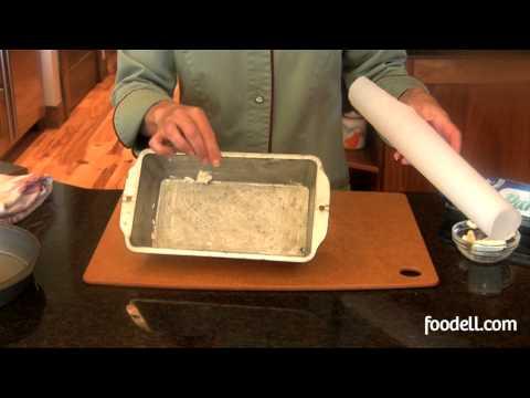 Preparing A Cake Pan