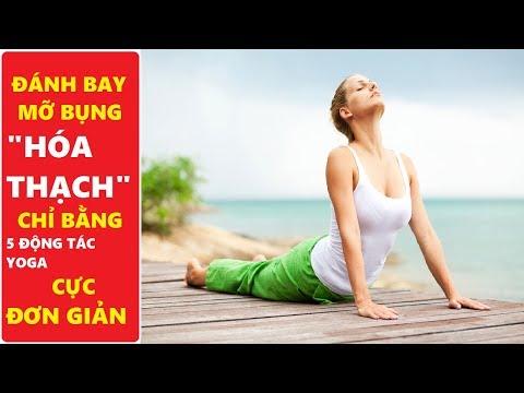 Giảm mỡ bụng hiệu quả với 5 tư thế yoga