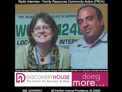 radio interview with director jamie savage and family resources