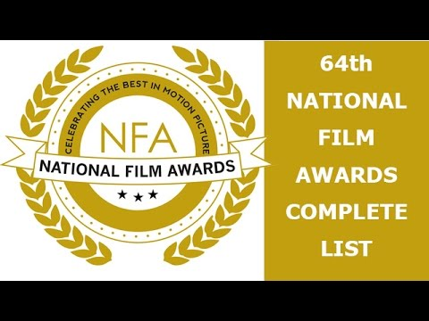 64th National Film Award complete list