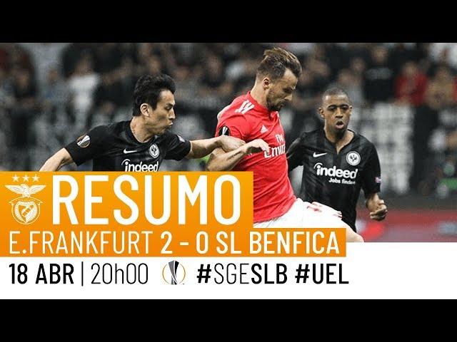 HIGHLIGHTS: Eintracht Frankfurt 2-0 SL Benfica