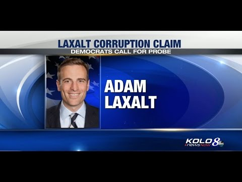 TV Coverage: Nevada Lawmakers Call for Hearing on Laxalt Corruption Claim