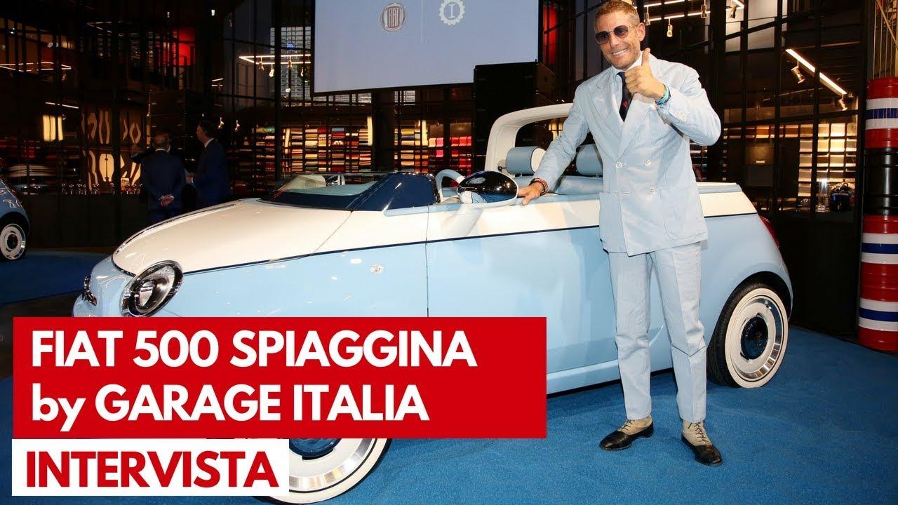 Fiat 500 spiaggina by garage italia intervista lapo for Garage fiat marignane