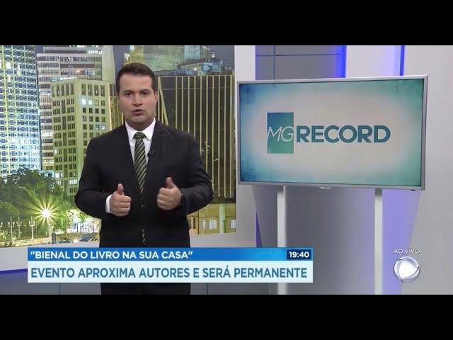 REPORTAGEM - Bienal na TV Record