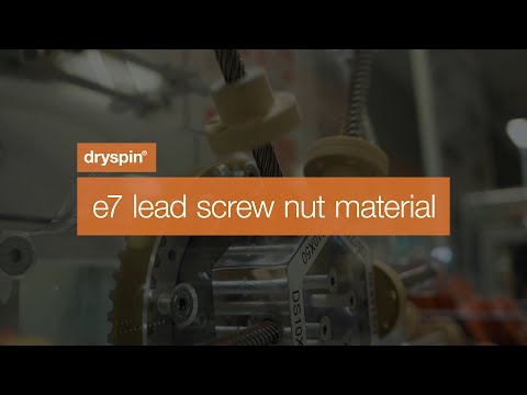 drylin® dryspin - e7 lead screw nut material