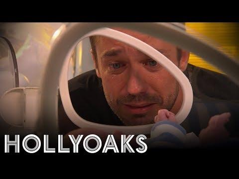 Hollyoaks: Warren Says Goodbye To The Babies