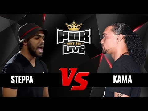 Steppa vs Kama - Punchoutbattles Live