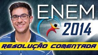 Correção do ENEM 2014 - Resolução comentada de Matemática | EXATAS EXATAS