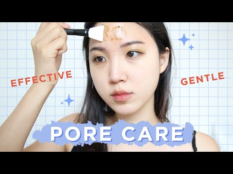 💜GENTLE & EFFECTIVE PORE CARE ROUTINE • Get Rid Of Clogged Pores WITHOUT Stripping Your Skin!