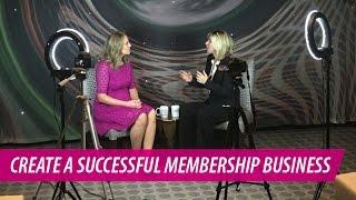 كيفية إنشاء ناجحة العضوية الأعمال | جيني المؤسسة مع كيلسي همفريس
