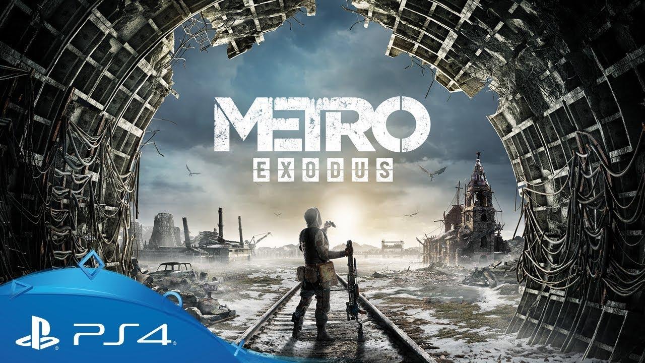 metro exodus e3 2018 gameplay trailer ps4