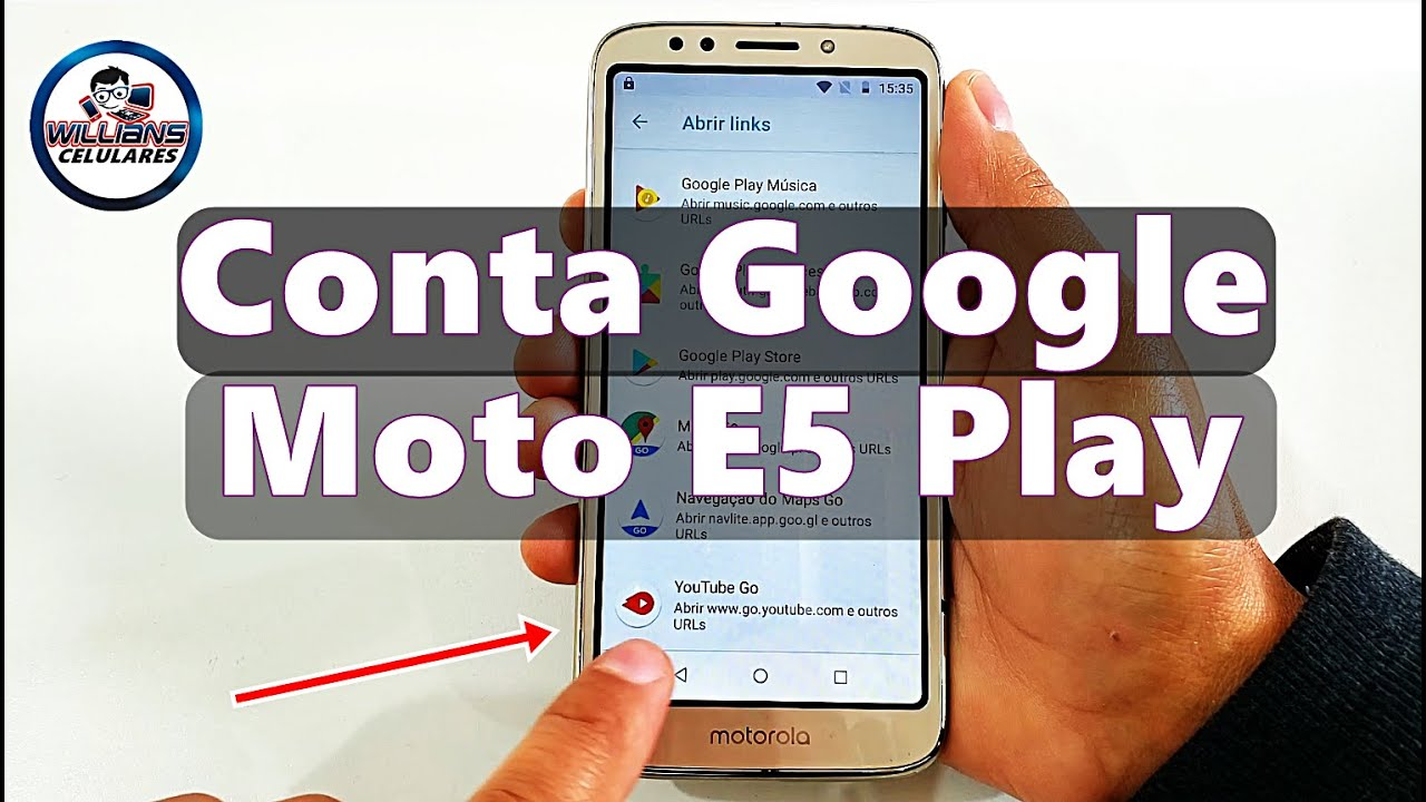 Desbloquear Conta Google Moto E5 Play que NÃO ABRE YOUTUBE