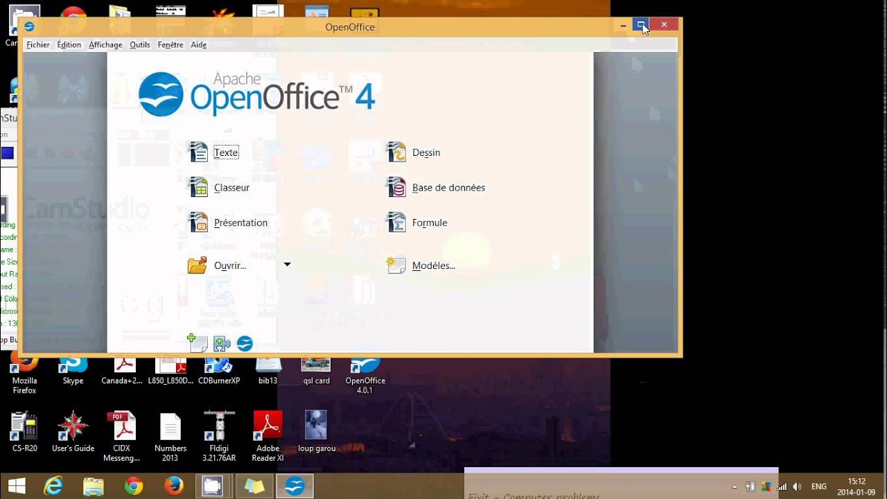 Windows 8 1 how to install free office suite open office youtube - Installer open office windows 8 ...