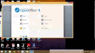 Windows 8.1 How to install free office suite open office