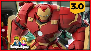 Disney Infinity 3 TOY BOX ADVENTURES! Hulkbuster DESIGN Awesome Live Stream!