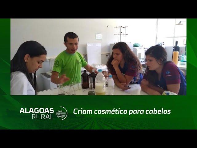 Estudantes da zona rural de Palmeira dos Índios criam cosmético para cabelos