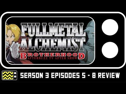 Fullmetal Alchemist Season 3 Episodes 5 - 8 Review & Reaction | AfterBuzz TV