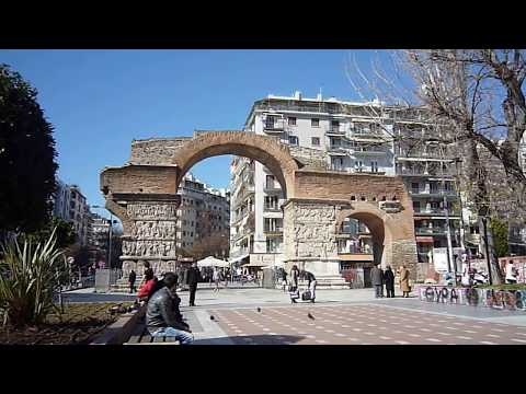 Arch of Galerius - Thessaloniki, Greece, Feb. 2014