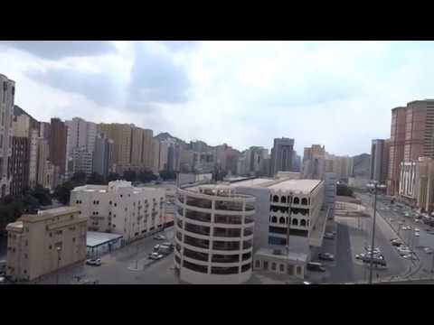 6524e725f Makkah View From Hotel Sanabel Al Huda - YouTube