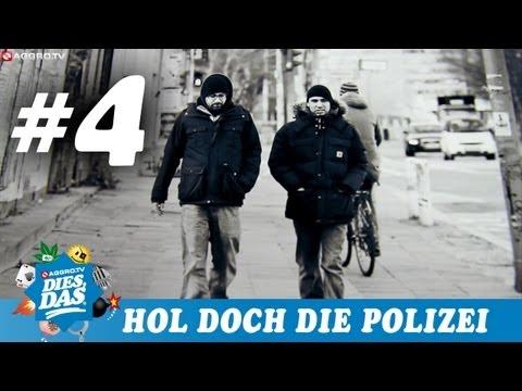 DIES DAS - NR.05 - TEIL 4 - HOL DOCH DIE POLIZEI - SIDO & B-TIGHT INTERVIEW 1 (OFFICIAL HD VERSION)