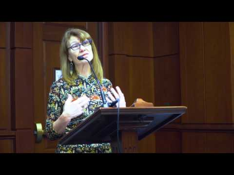 """Kristin Ohlson at """"How to Feed the World and Cool the Planet: Soil Is the Solution"""""""