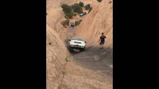 jeep wj grand cherokee 3 iro hells gate on hells revenge moab no lockers grand slam west 2016