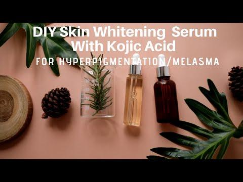Diy Skin Whitening Serum With Kojic Acid Powder