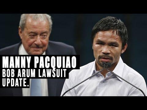 Manny Pacquiao vs Bob Arum lawsuit update