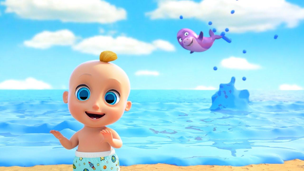 ¡Nueva canción! Baby shark en español | Bebé tiburón | Canciones infantiles con Sunnyside